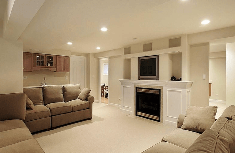 basement fireplaces ideas, design & renovation. safe fireplace