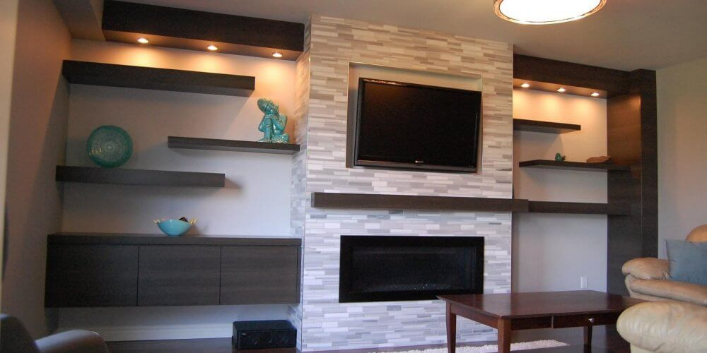 Basement Design Services: Basement Fireplaces Ideas, Design & Renovation. Safe Fireplace