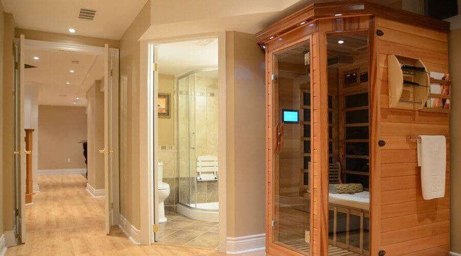 basement sauna how to build a sauna in your basement design ideas rh capablegroupinc ca