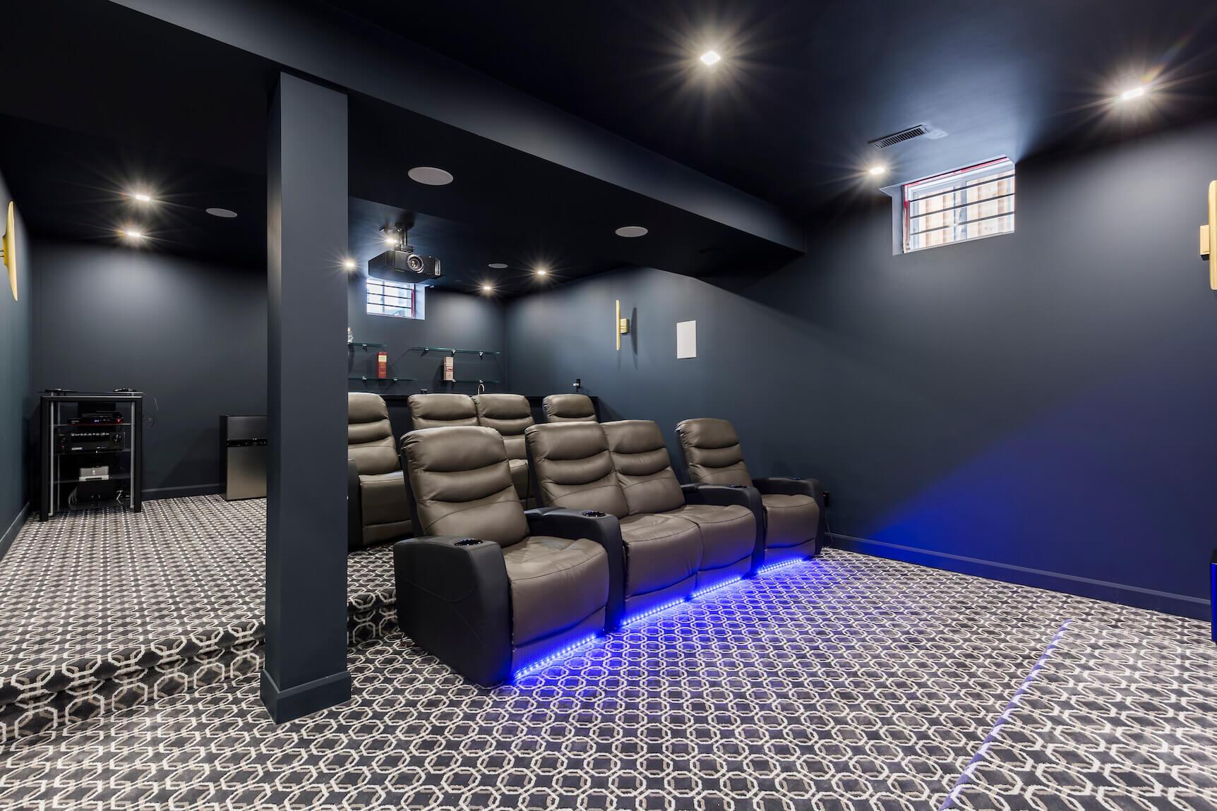 basement cinema in Toronto