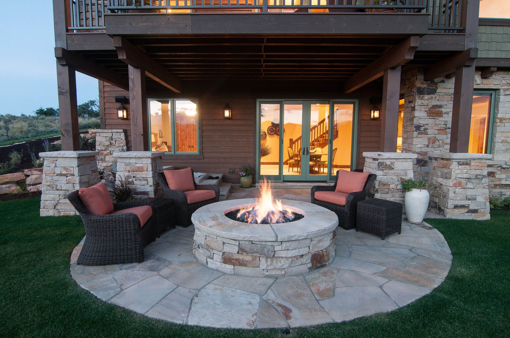 Image of: Remodeling Walkout Basement Ideas Finished Home Designs