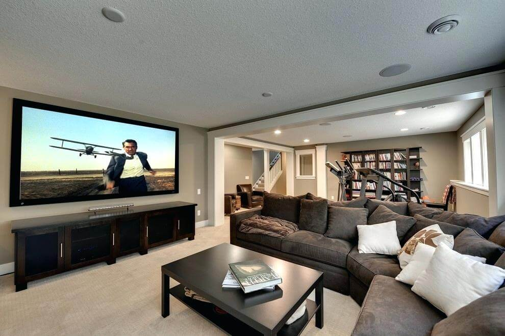 8 Basement Renovation Finishing Small Basement Living Room Ideas